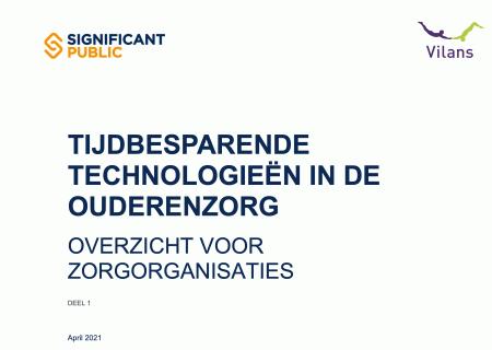Tijdsbesparende technologieën in de ouderenzorg